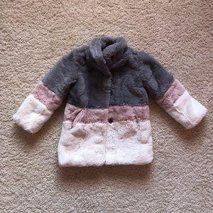 Other - Toddler Faux Fur Coat